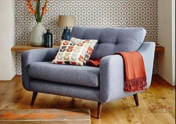 Nếu như căn phòng khách nhà bạn có diện tích hạn chế thì sofa đơn là giải pháp tốt nhất