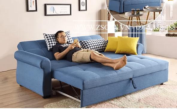Chiếc ghế sofa đa năng giúp bạn có thể thoải mái ngả lưng bất cứ lúc nào