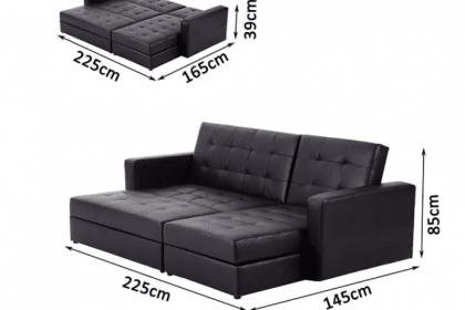 Sofa đa năng vô cùng tiện ích không thể thiếu cho căn hộ của bạn