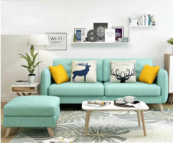 Khách hàng thường thích sự kết hợp giữa bộ ghế sofa chung cư với thảm sofa sạch sẽ, hiện đại tạo ra một không gian tuyệt vời.