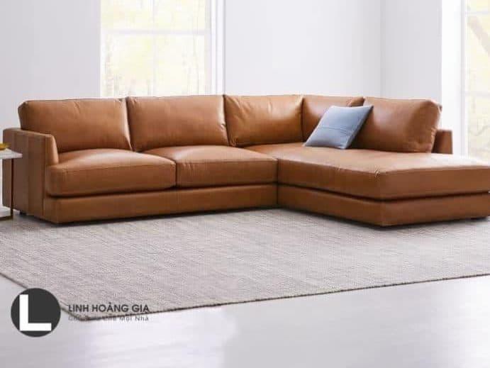 Ghế sofa da phòng khách L29