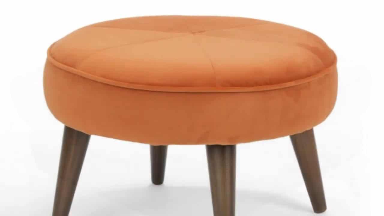 Sofa đôn tròn chân cao