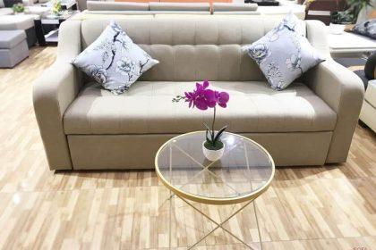 Sofa giường đôi tạo nên sự tiện nghi cho căn nhà
