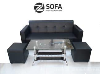 Sofa băng bằng da