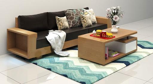 Màu Sắc Sofa Gỗ