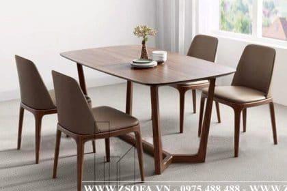 Bàn ăn 4 ghế nhỏ gọn dành cho phòng ăn