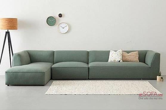 Ghế sofa 4 chỗ - tạo sự ấm cúng cho phòng khách