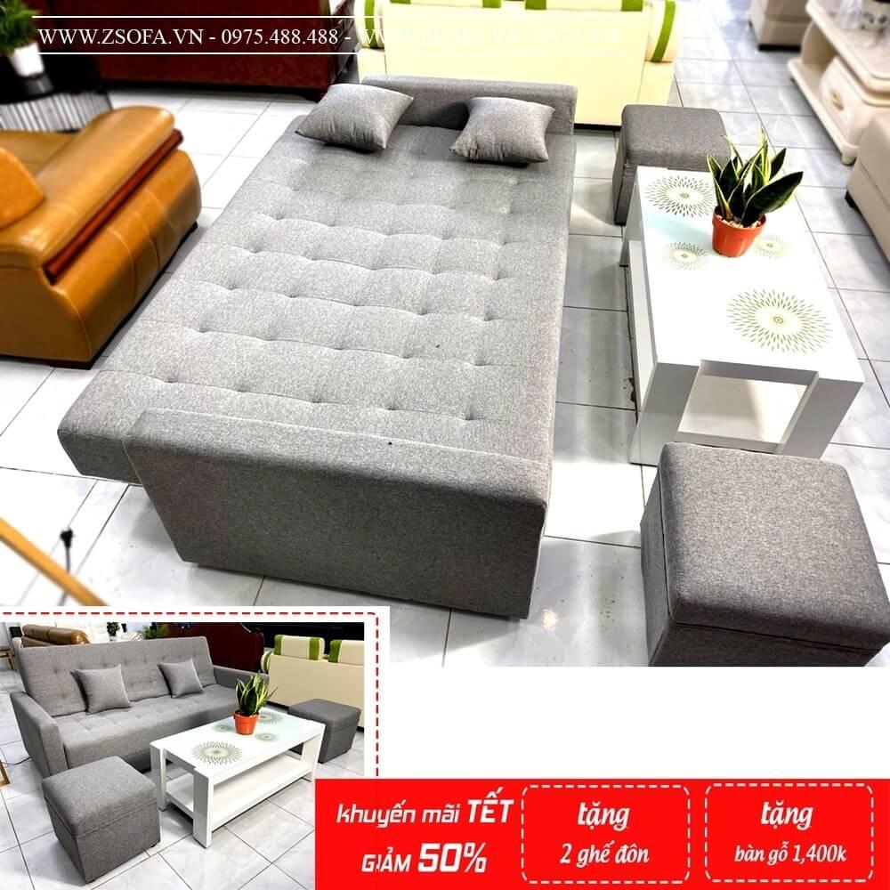 Ghế sofa có giường dành sự tiện nghi cho phòng khách