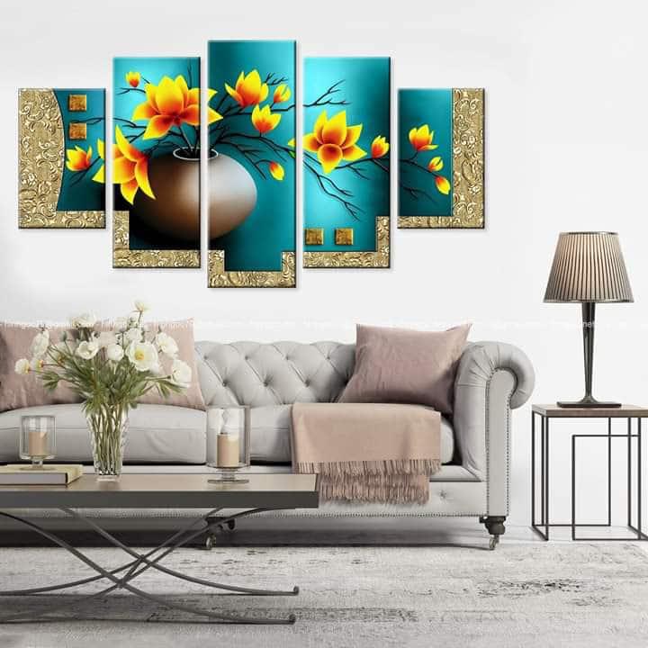 Tranh Canvas Decor Phòng Khách
