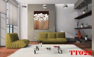 Tranh canvas hình lọ hoa T022