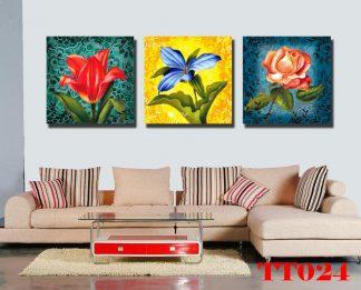 Tranh canvas bộ 3 TT024