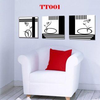 Tranh treo tường bộ 3 TT001