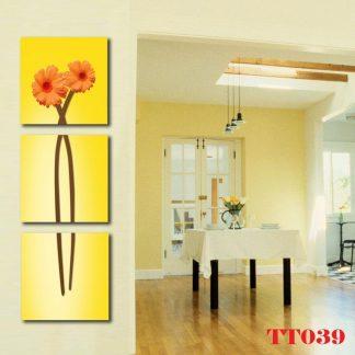 Tranh canvas bộ 3 TT039