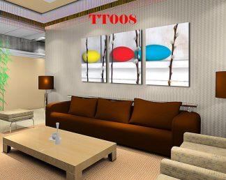Tranh canvas bộ 3 TT008