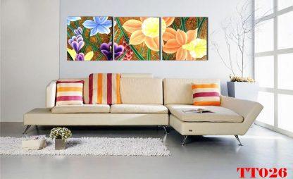 Tranh canvas bộ 3 TT026