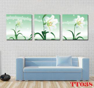 Tranh canvas bộ 3 TT038