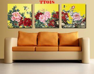 Tranh canvas bộ 3 TT018
