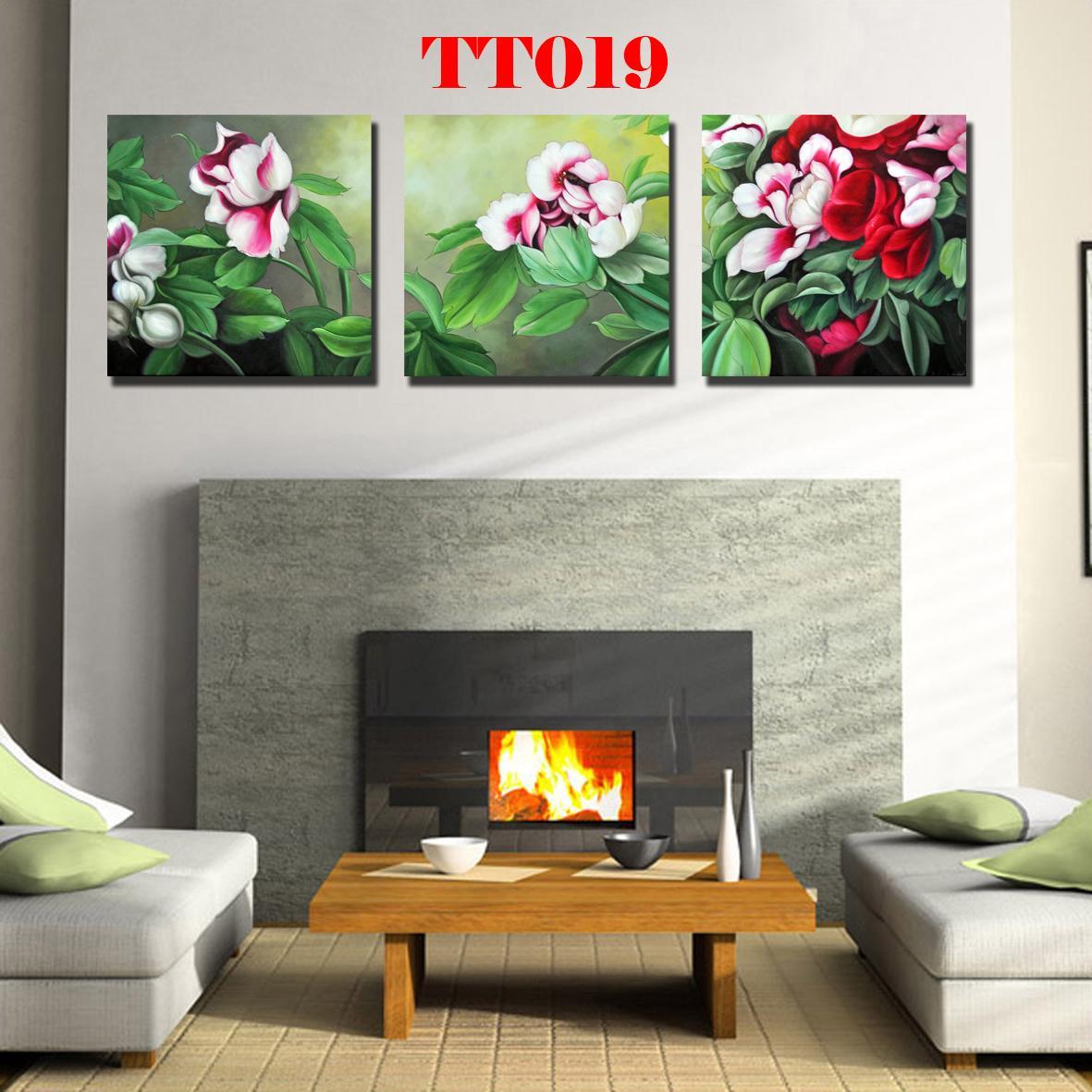 Tranh canvas bộ 3 TT019