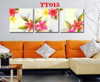 Tranh canvas bộ 3 TT015