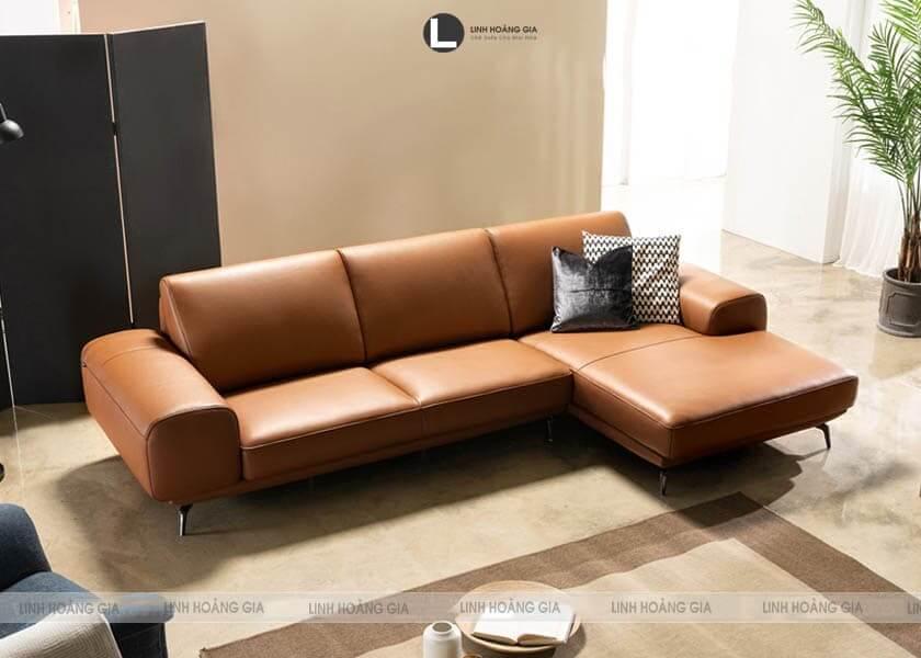 Ghế sofa chân sắt từ doanh nghiệp ghế sofa uy tín