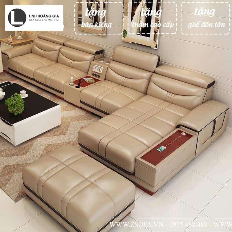 Bộ bàn ghế sofa góc chất lượng cao