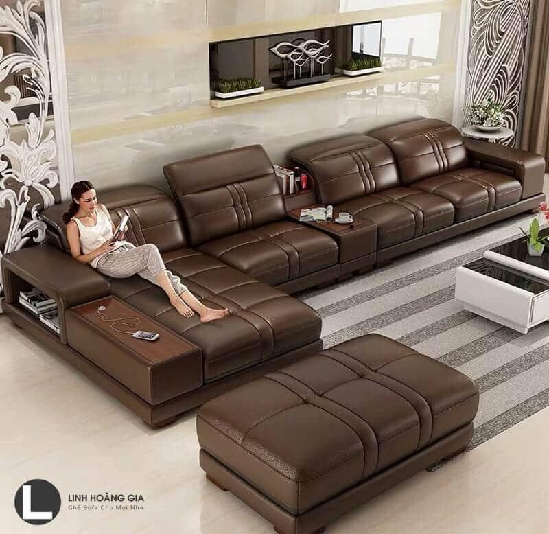Bàn ghế sofa lớn mua ở đâu mới hợp lý