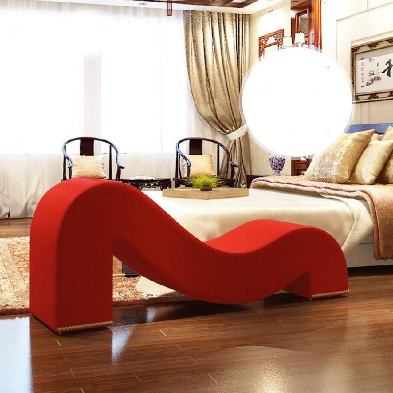 Ghế tình yêu được thiết kế dành riêng cho các cặp đôi