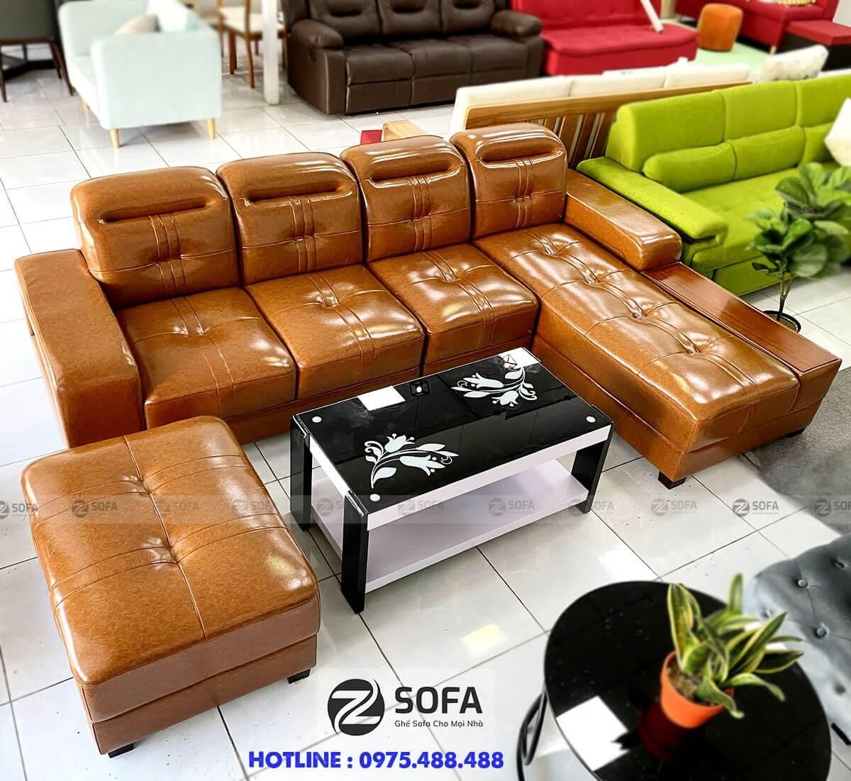 Mua ghế sofa màu ấm nóng ở đâu chất lượng