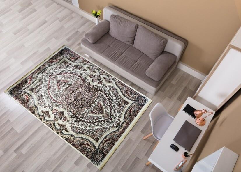 Chọn thảm cho phòng khách thêm ấm áp