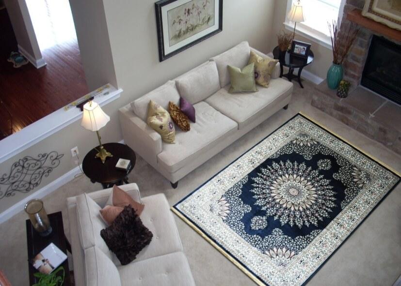 Bán thảm lót sofa đẹp nhất cho phòng khách