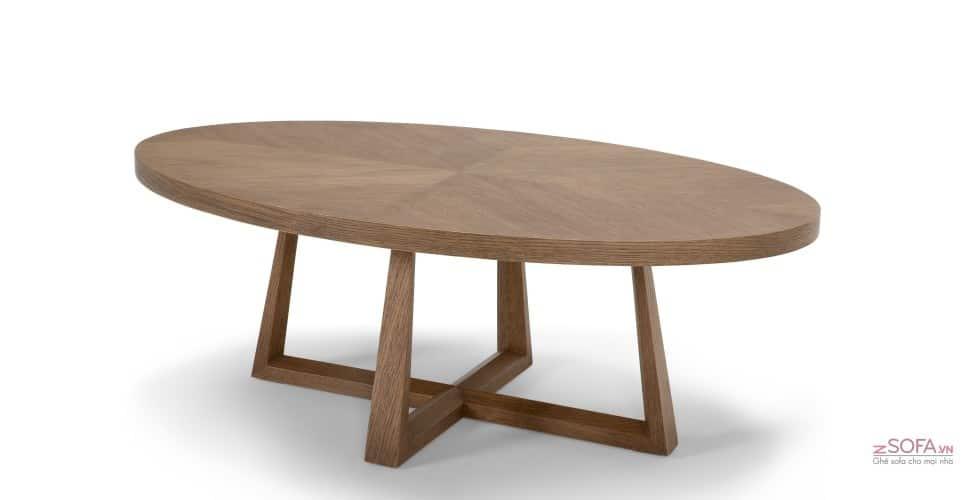 Chọn mẫu bàn sofa gỗ đẹp nhất cho phòng khách