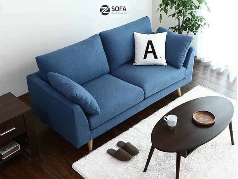 Chọn chiếc ghế nệm nhỏ gọn nhất cho phòng khách