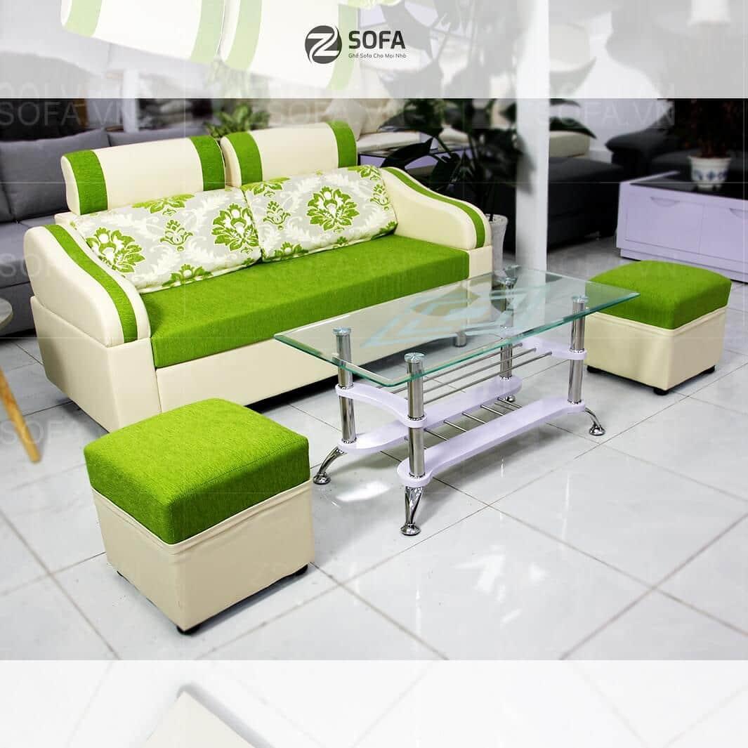 Bàn ghế phòng khách nhỏ gọn cho phòng khách
