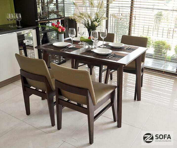 Những mẫu bàn ăn đẹp cho gia đình từ zSofa