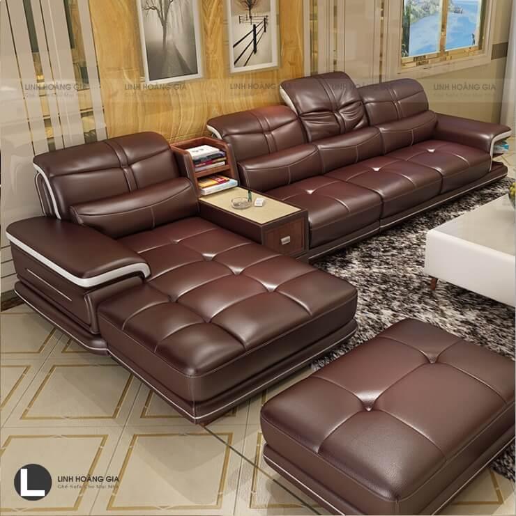 Chọn ghế nội thất bọc da dành cho phòng khách