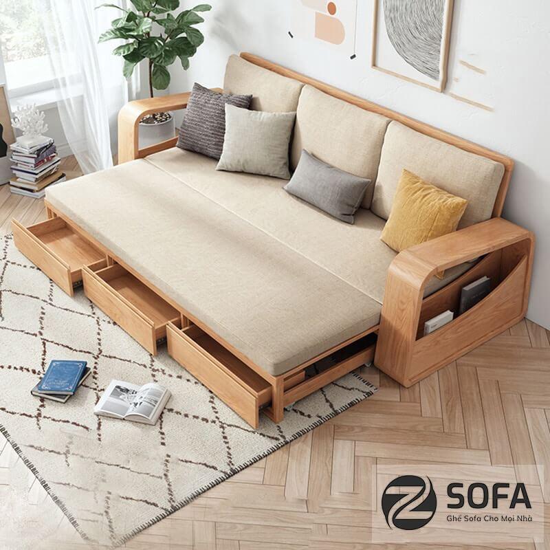 Các mẫu sofa gỗ đẹp hiện đại từ doanh nghiệp zSofa