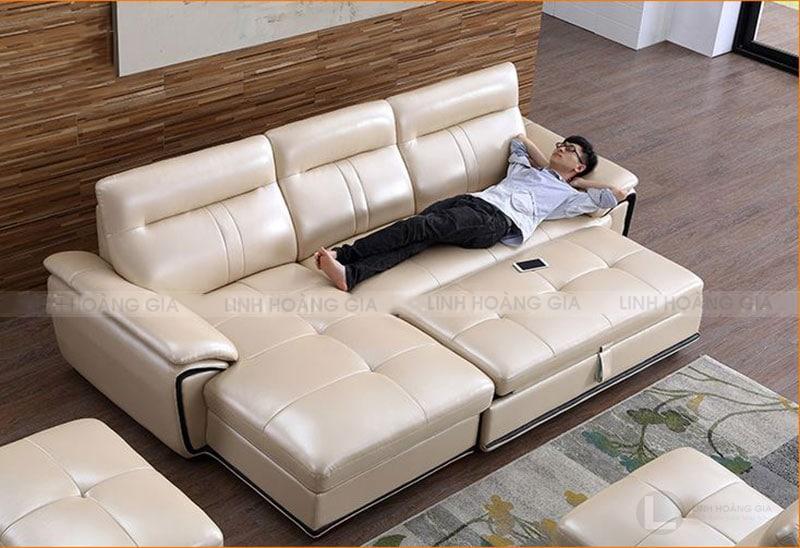 Sofa lót nệm xếp - tiện lợi và thoải mái