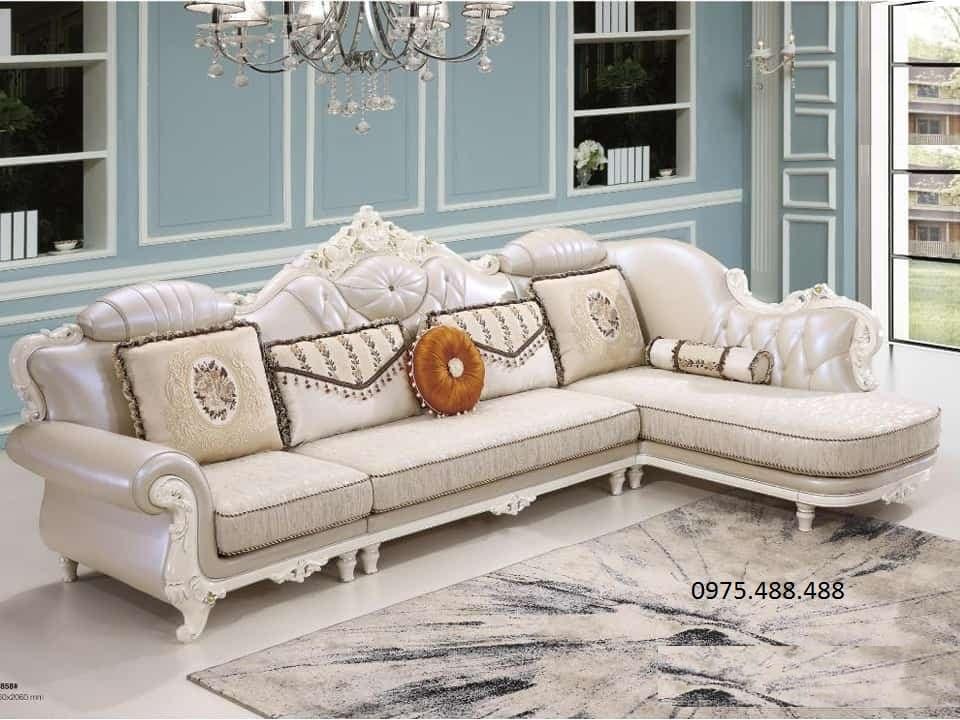 Mẫu bàn ghế phòng khách kiểu Châu Âu