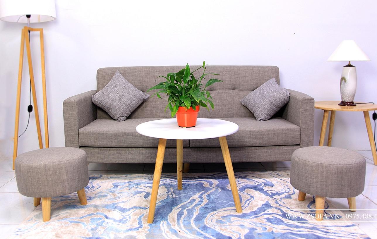 Bộ ghế sofa phòng khách vải chon ở đâu uy tín ?