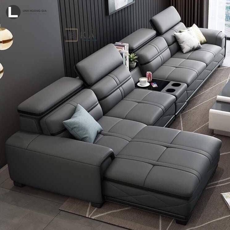 Bộ ghế sofa da phòng khách sang trọng nhất