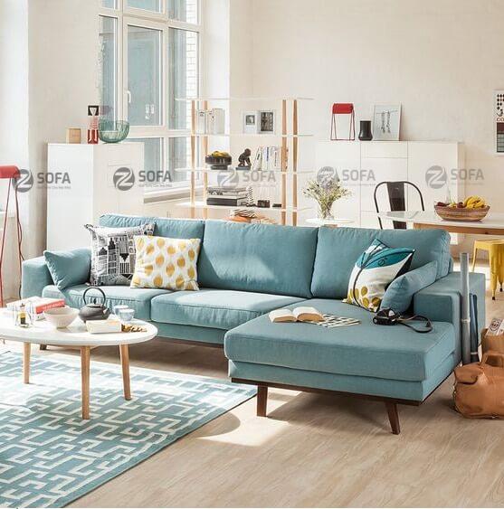 Thảm lông lót ghế sofa - ấm áp cho bước chân