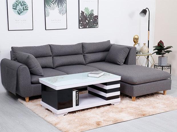 Chọn thảm ghép trải sàn lót ghế sofa ở đâu ?