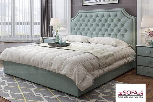 Giường nằm phòng ngủ hiện đại cho gia đình