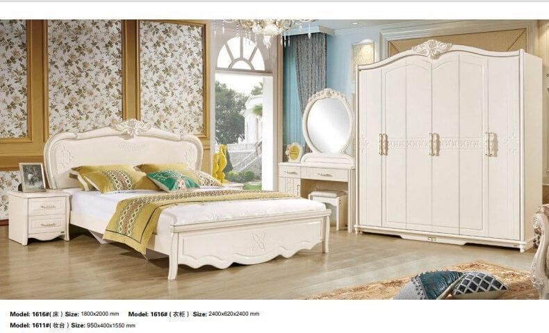 Giường ngủ cổ điển mang đến sự sang trọng