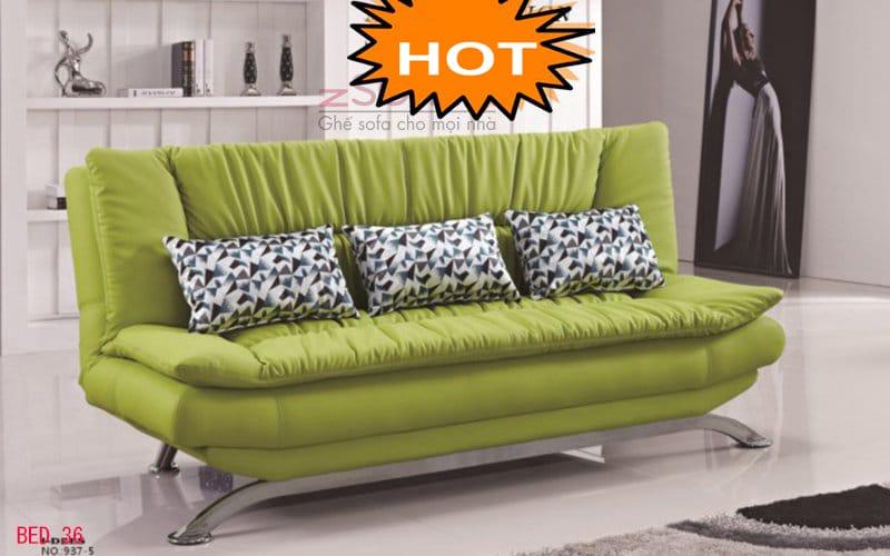 Bộ ghế sofa giường 2 trong 1 đa năng cho gia đình