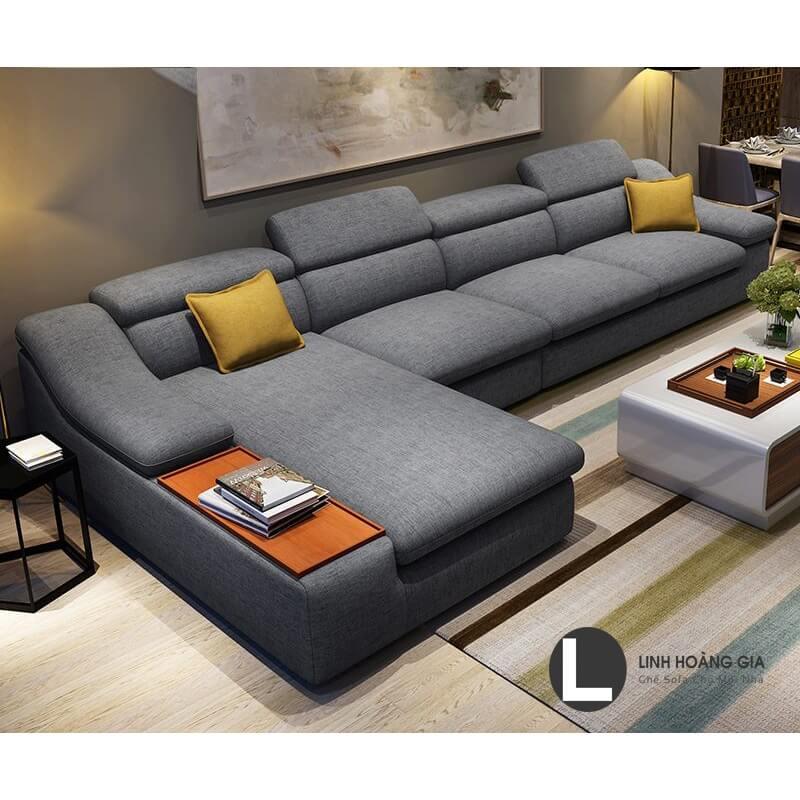 Chọn sofa nệm dày phòng khách thêm ấm áp