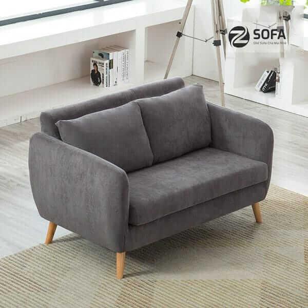 Bộ ghế sofa vải nỉ dày từ doanh nghiệp uy tín