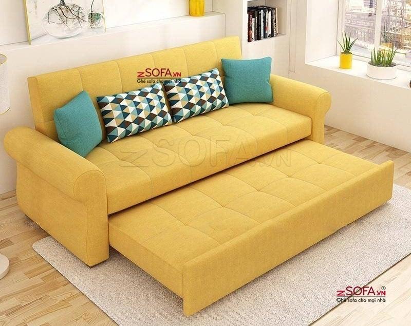 Ghế sofa kiêm nệm đa năng cho gia đình