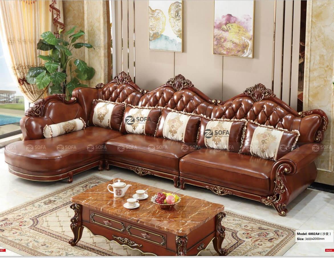 Bàn ghế sofa da cao cấp chính hãng HCM