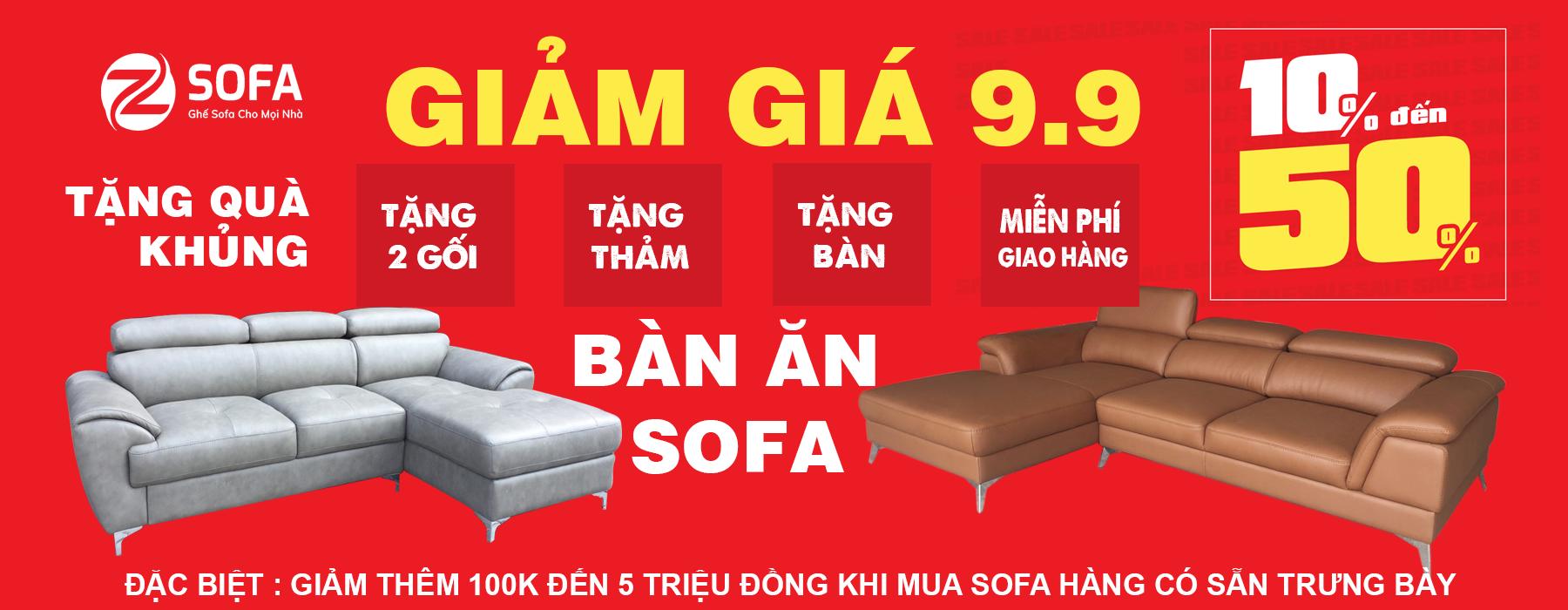 khuyen mai sofa